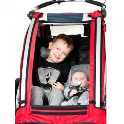 Leżaczek Weber w przyczepce Nordic Cab Explorer