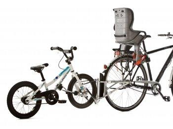 Hol rowerowy FollowMe z fotelikiem rowerowym