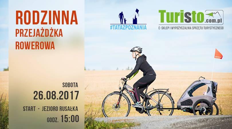 Rodzinna przejażdżka rowerowa - Tata z Poznania & Turisto