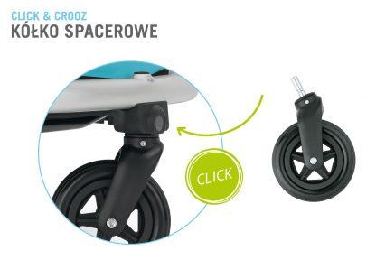 Przyczepka rowerowa jako wózek spacerowy