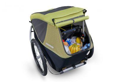 Pojemny bagażnik w Croozer Kid 1