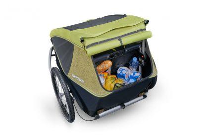Największy wśród przyczepek rowerowych bagażnik
