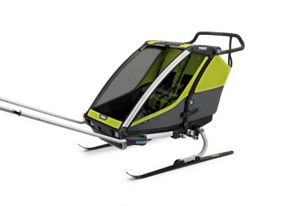 Thule Cab 2 z zestawem narciarskim