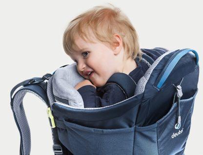 Śpiące w nosidle dziecko ma zapewniony najwyższy komfort
