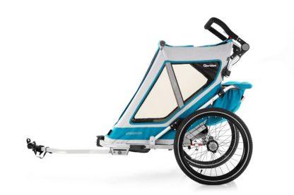 Przyczepka do roweru Qeridoo Speedkid 1 osobowa