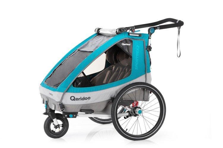 Przyczepka rowerowa Qeridoo Sportrex2  2020 2-os