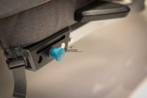 Mocowanie dyszla w przyczepce rowerowej Qeridoo 2020