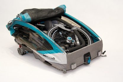 Złożona przyczepka rowerowa Qeridoo Sportrex 2
