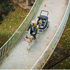 Wypożyczalnia przyczepek rowerowych,nosideł turystycznych i innego sprzętu do aktywnego wypoczynku z dziećmi