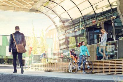 Bezpieczny i wygodny fotelik rowerowy
