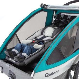 Qeridoo-hamaczek do przyczepki rowerowej