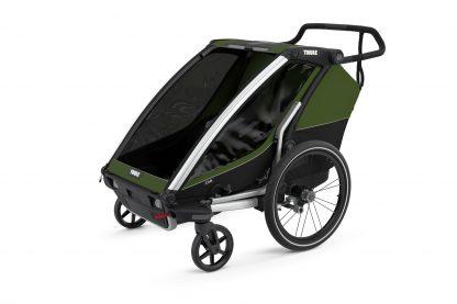 Thule Cab 2 w funkcji wózka spacerowego